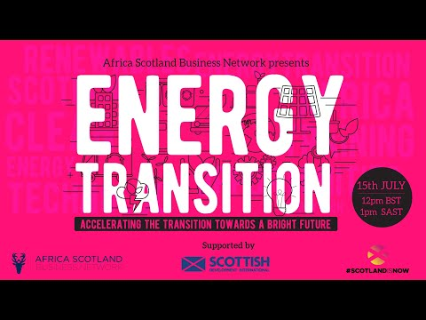 Energy Technology Event Series 2021 - Event 2   Energy Transition