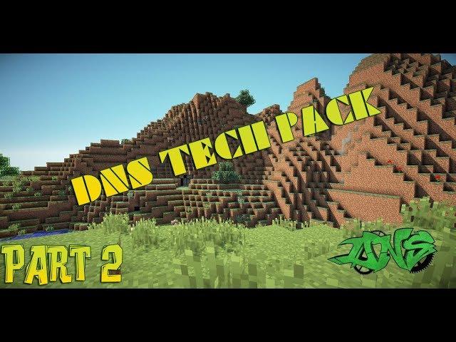 DNS Tech Pack с Деффом #2 - Добыча ресурсов.