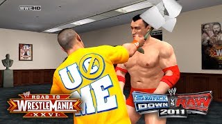 "WWE Smackdown Vs Raw 2011 - ""CALL A DOCTOR!!"" (Road To WrestleMania/RTWM Ep 3)"