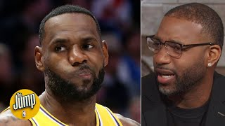 LeBron could've averaged a triple-double for his career if he wanted to - Tracy McGrady | The Jump