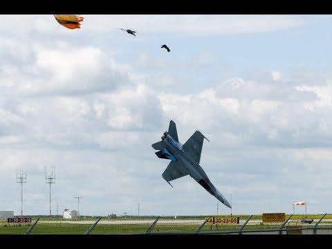 Accidente de avion F18 Torrejon de Ardoz