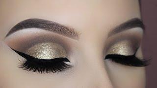 Gold Halo Eye Makeup Tutorial