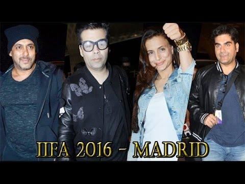 UNCUT | Celebrity Leaving For IIFA Awards Madrid 2016 | Salman Khan | Ameesha Patel | Alia Bhatt
