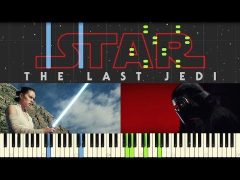 Star Wars: The Last Jedi - Trailer Music - Piano (Synthesia)