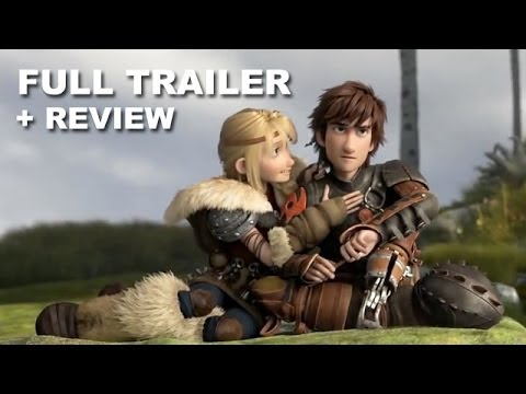 How To Train Your Dragon Official Trailer Trailer Review Hd Plus