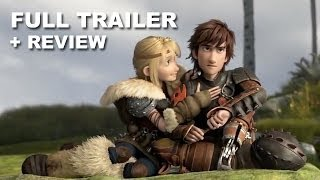 how to train your dragon 2 official trailer   trailer review hd plus