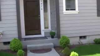 США Средние американские дома в Портленд штат Орегон