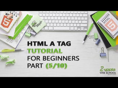 HTML A TAG | HTML A TAG Tutorial for Beginners (Part 6/10) | Zyppia Web School thumbnail