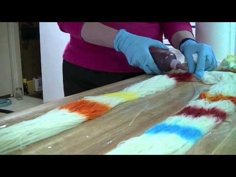 Hand Painted Yarn Kool Aid