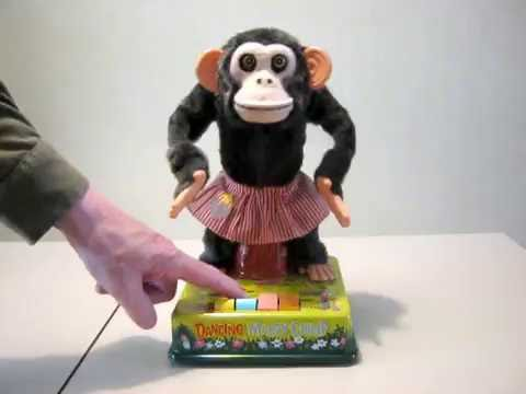 dancing chimpanzee music video