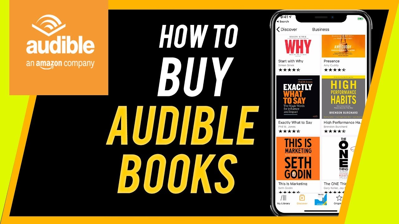 Audible Account Sharing how to buy audible books on iphone or ipad