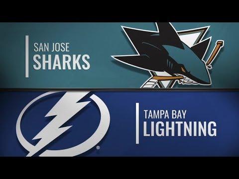 Sharks vs Lightning   Jan 19,  2019
