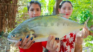 Crispy Ocean Fish Cooking Dried Rice Noodle - Cooking With Sros
