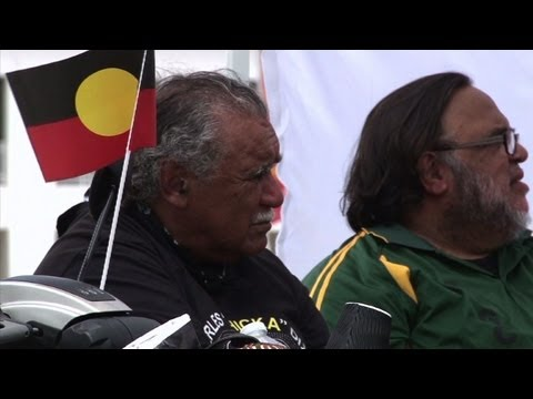 Aboriginal protest highlights Australia inequality