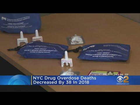 NYC Drug Overdose Deaths Decreased By 38 In 2018