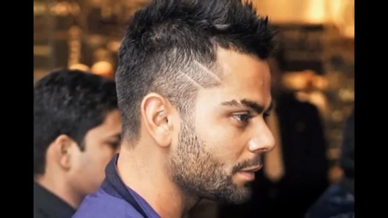 Virat Kohli Hairstyle Images Latest 2016 Side Cut