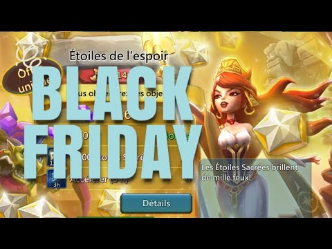 Lords Mobile : Black Friday 2018