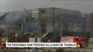 Afectados por el incendio de Paterna