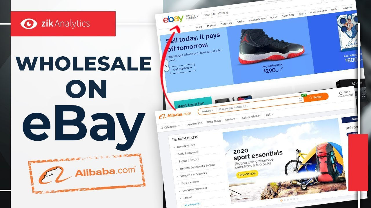 Wholesale On Ebay How To Buy In Bulk From Alibaba To Sell On Ebay Youtube