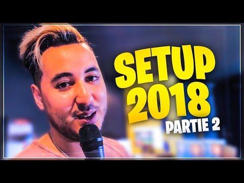 GOTAGA SETUP 2018 - PARTIE 2 ► Le studio des émissions !