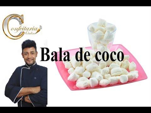Balas de coco para você  não errar mais no ponto / coconut candy