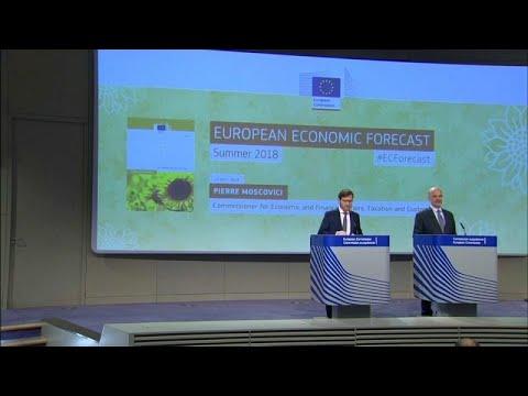 Comissão Europeia revê em baixa crescimento da Zona Euro para 2018