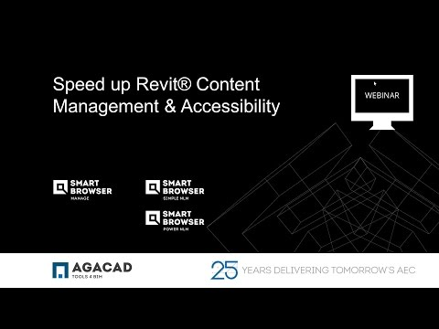 Speed up Revit Content  Management & Accessibility