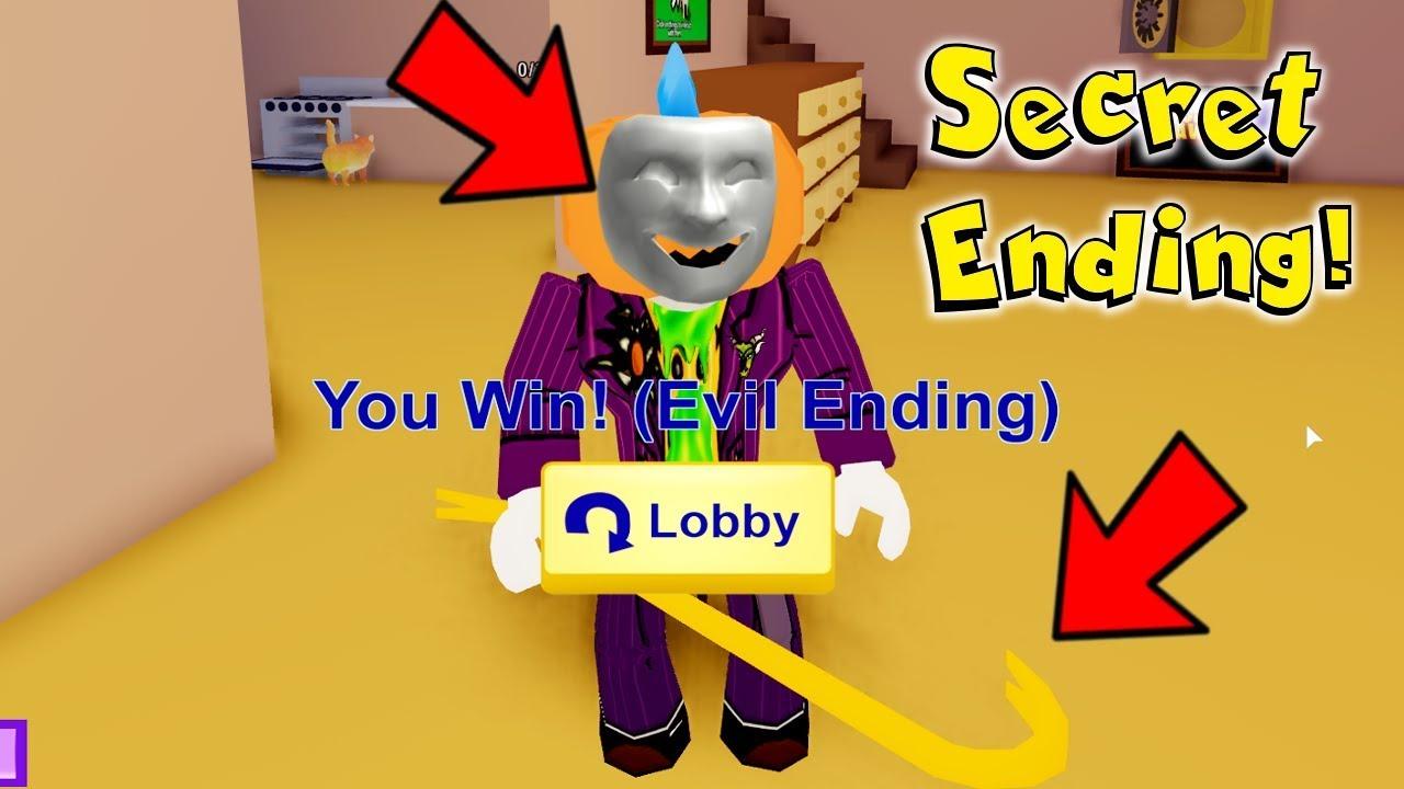 How To Get The Secret Ending In Roblox Break In...