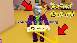 How To Get The Secret Ending In Roblox Break In...