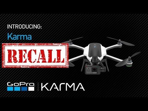 GoPro Karma RECALL - FAIL