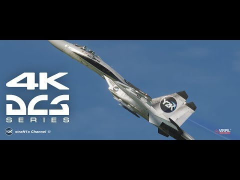 DCS World 4K / Su-27 Regular Workout / Czechoslovak Aerobatic / Combat Server.
