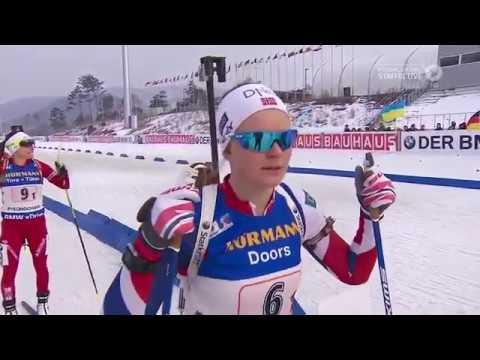 Damen 4x6 km Staffel PyeongChang 2017/HD