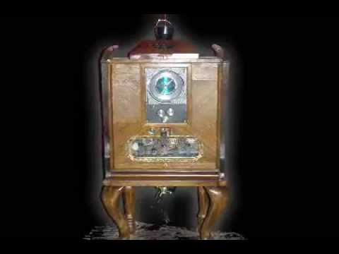 Victorian Style World Clock Radio