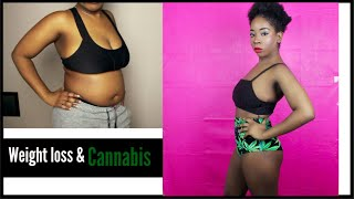 How I lost Weight Smoking Weed!!