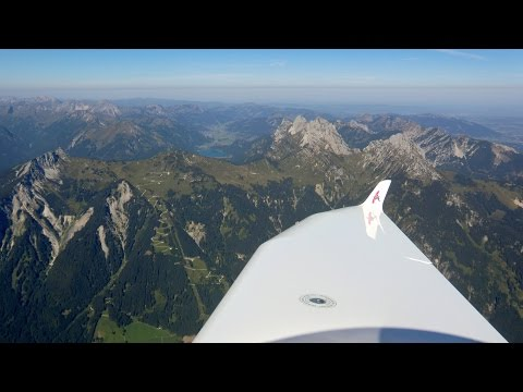 Panoramaflug durch die
