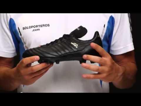 1d6eb6a018511 Zapatos adidas Copa Mundial blanco y negros - YouTube