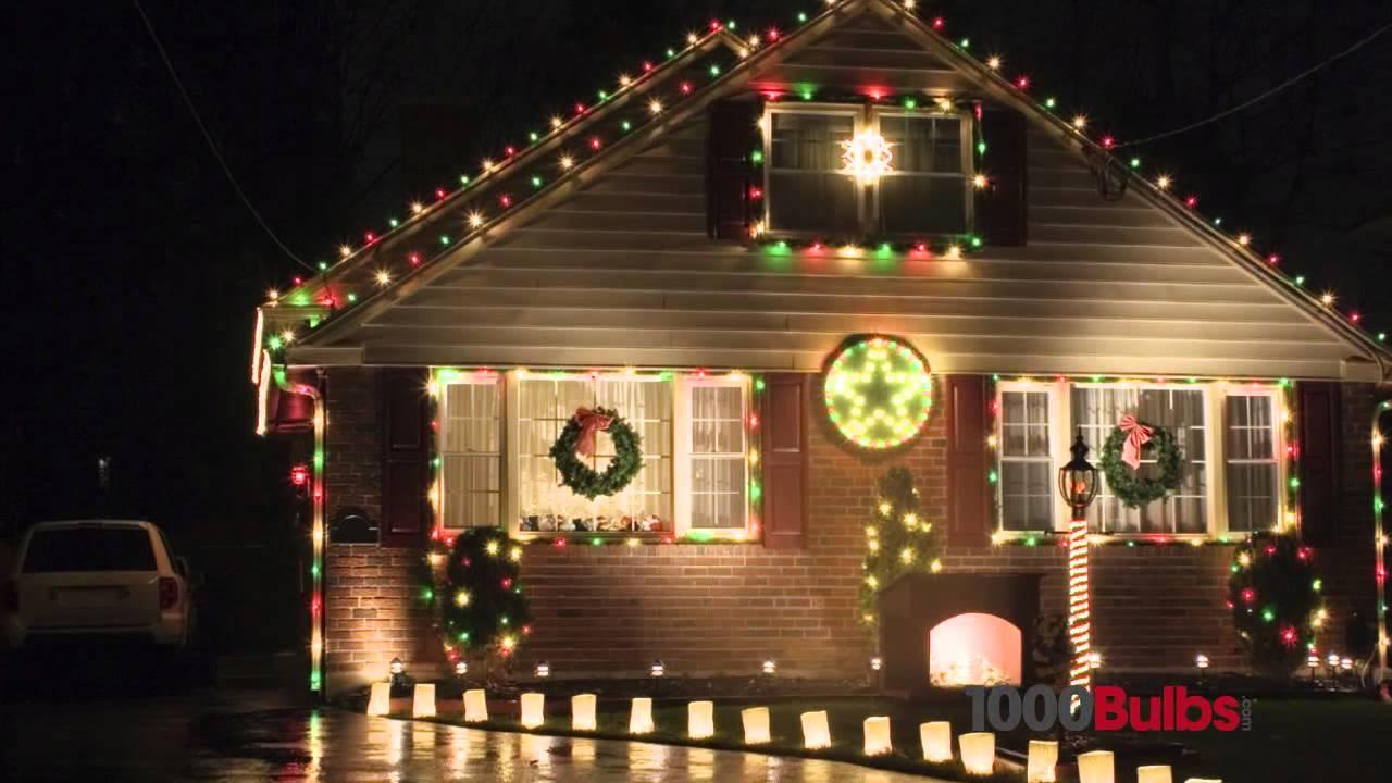 Christmas Lights C9.Transparent Purple C9 Christmas Light Bulbs