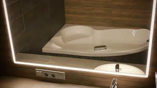 видео Зеркало для ванной комнаты