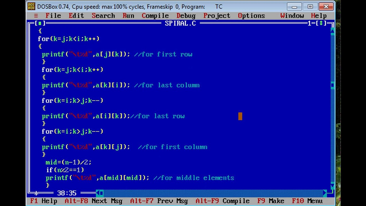 c program to print patterns of numbers and stars