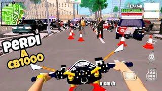 GTA SA ANDROID: MOTOVLOG - CAI NA MAIOR BLITZ DO MUNDO 😨