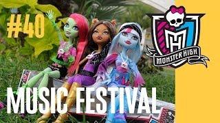 Куклы Монстер Хай обзор (Monster High) Школа Монстров (#40 - моя коллекция кукол)
