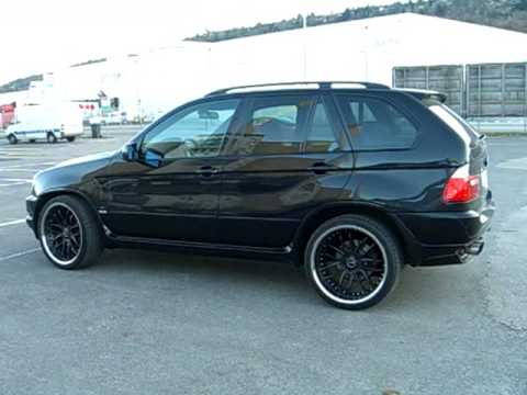 my bmw x5 e53 ac schnitzer breyton design mit hammer. Black Bedroom Furniture Sets. Home Design Ideas