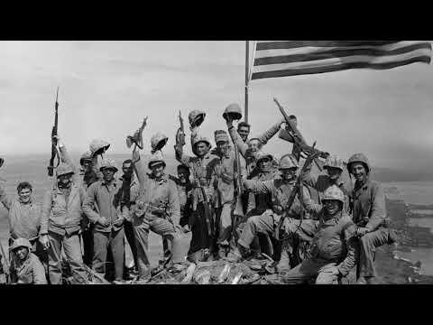 The Battle of Iwo Jima during World War II
