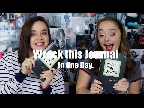 Wreck This Journal Challenge (One Day Challenge)