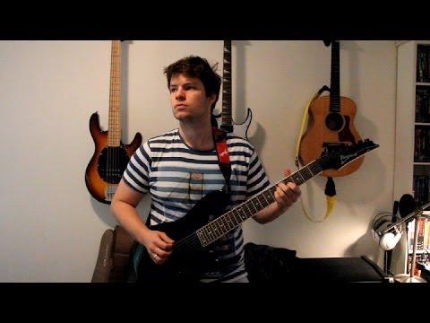 devin townsend - kingdom (guitar cover by kianul)