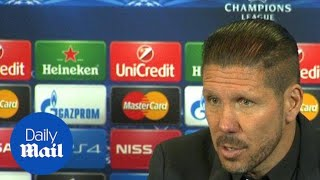 Diego Simeone: We don't prepare for penalty shoot outs - Daily Mail