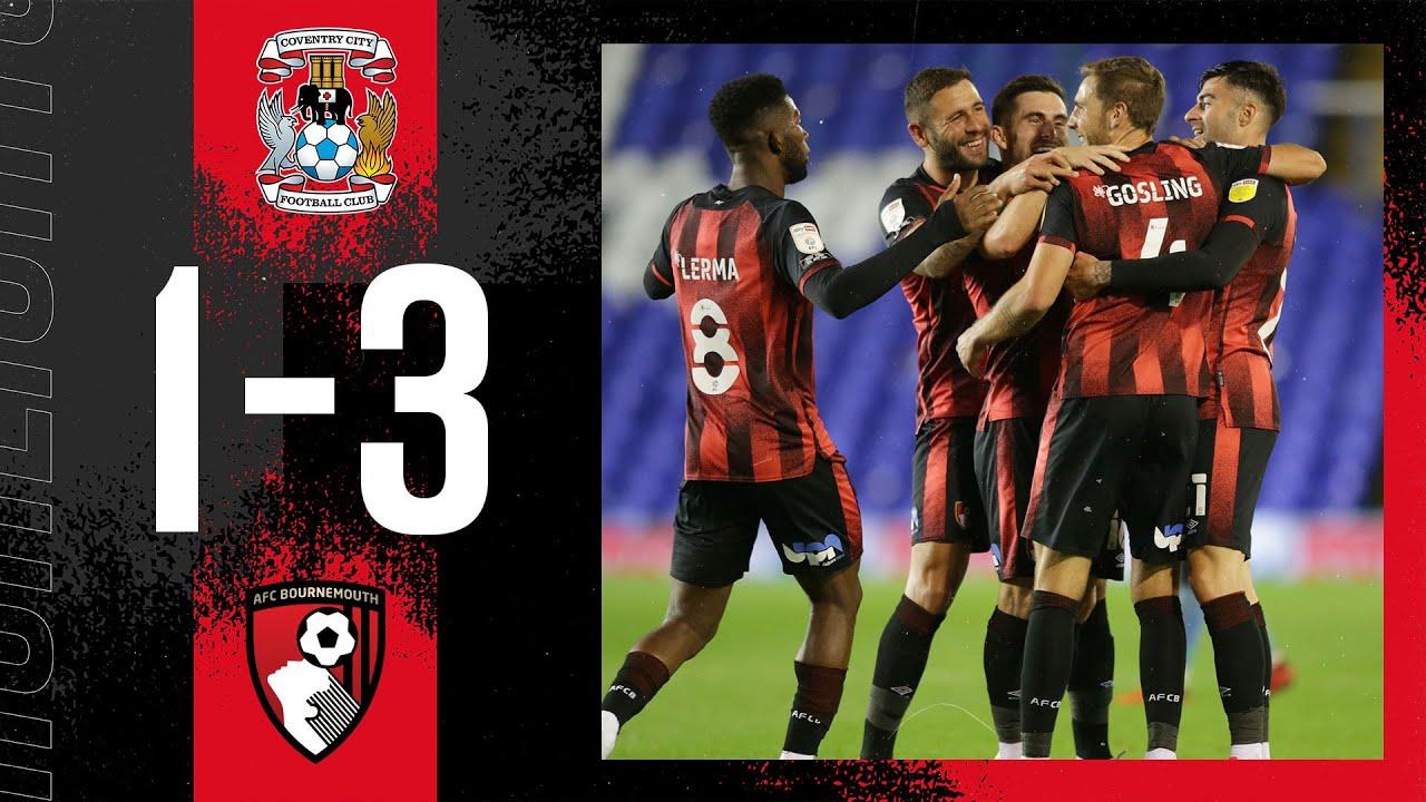 Gosling nets screamer 🙌   Coventry City 1-3 AFC Bournemouth