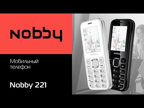Обзор на мобильный телефон Nobby 221
