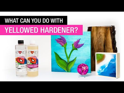 What Can You Do With Yellowed Hardener and Resin?