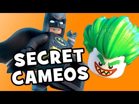 Lego Batman Movie VILLAINS & SECRET CAMEOS Explained